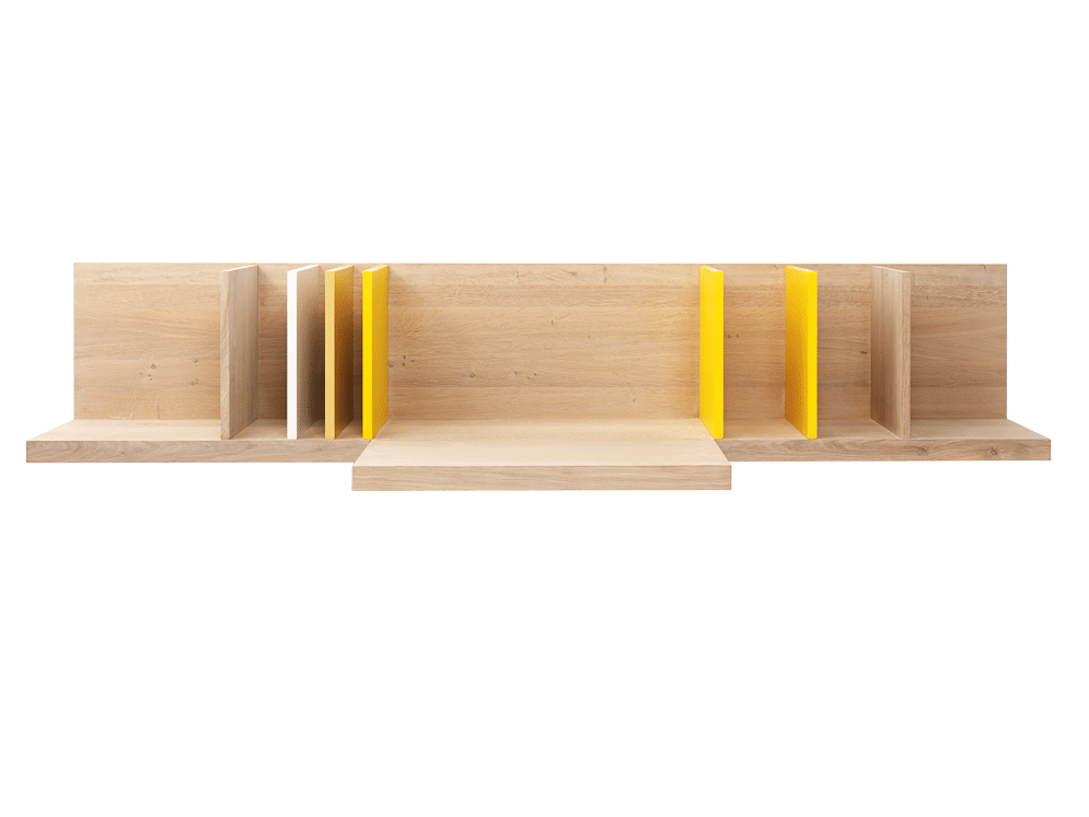 Pilat & Pilat wandbureau PP-40 als showroommodel-0