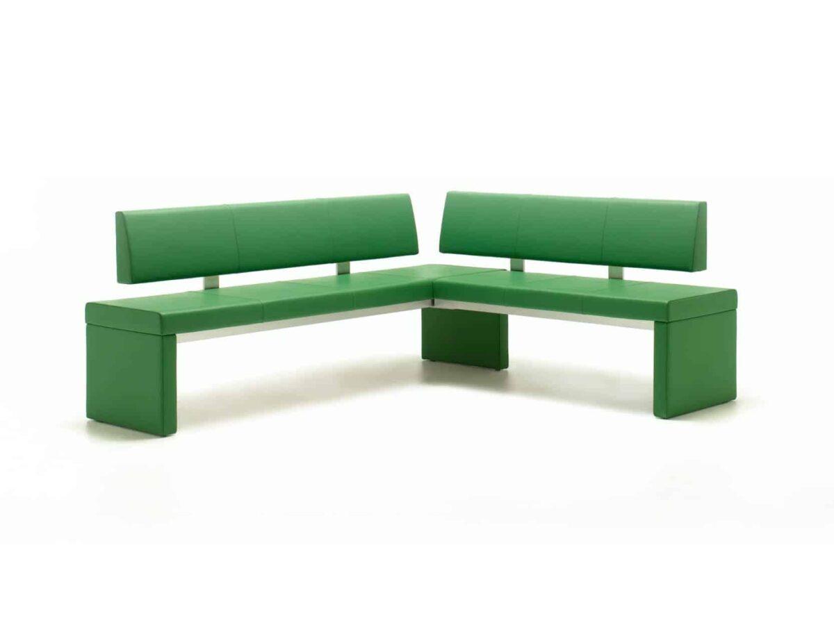 Rolf Benz eetkamerbank groen