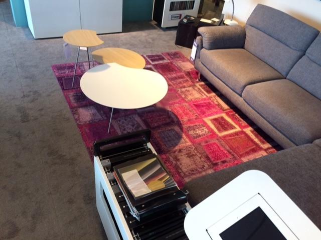 Janssens Orient Carpets Patch-V Pink als showroommodel-16097