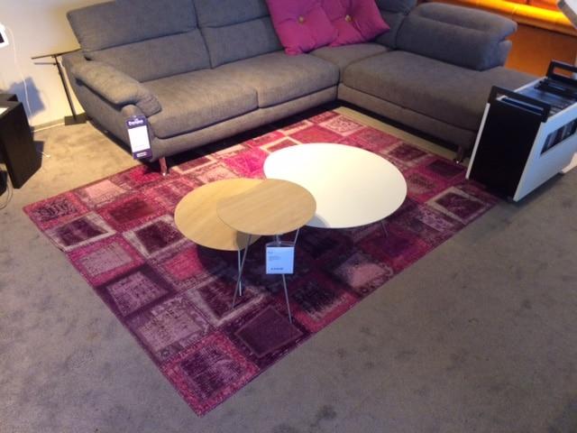Janssens Orient Carpets Patch-V Pink als showroommodel-0