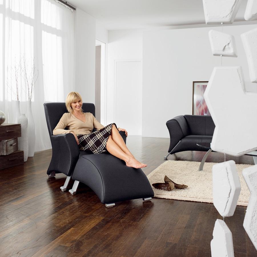 Rolf Benz fauteuil 322 sfeer