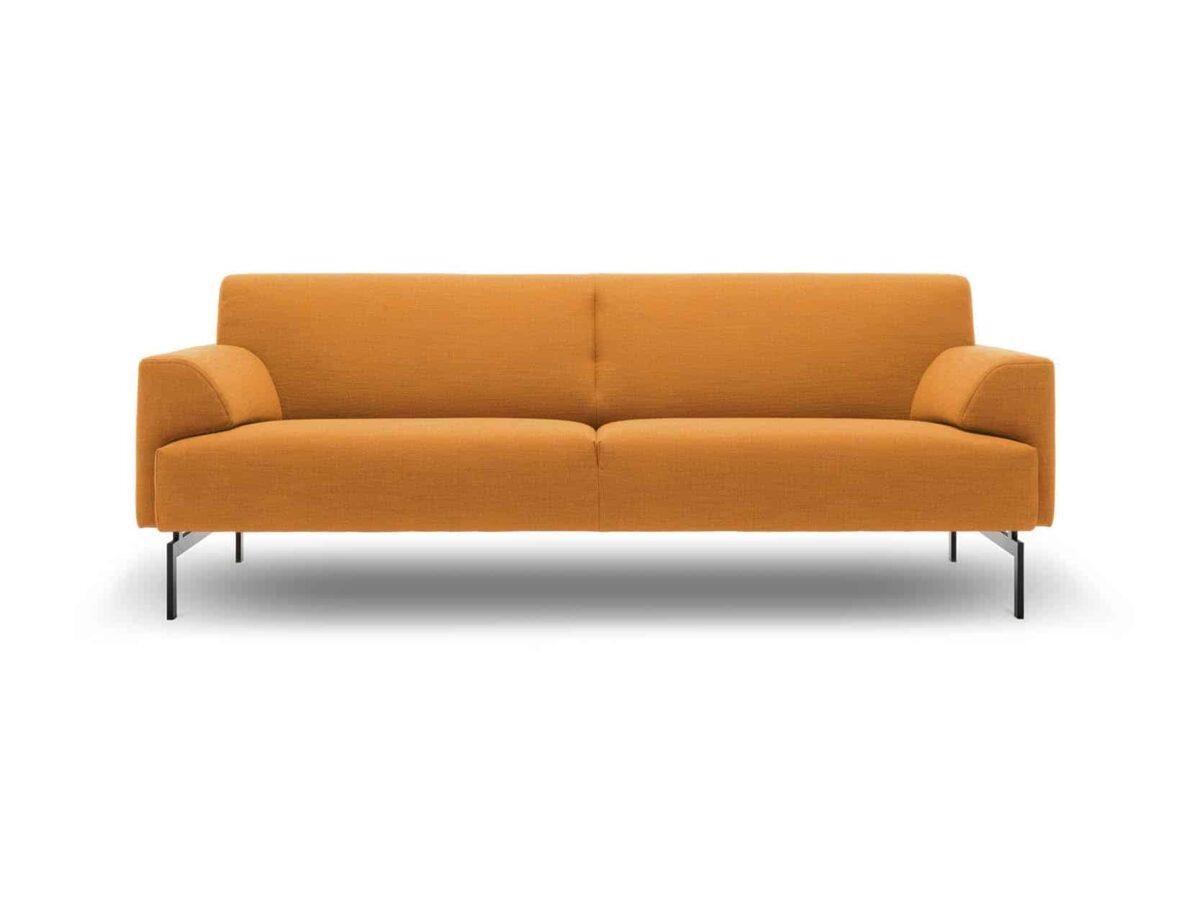 Rolf Benz bank oranje